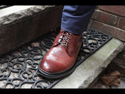 Frye Jones Lace-Up Review - Looks Great, Fits Weird?