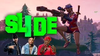 Fortnite Montage   Slide (French Montana Ft. Blueface, Lil Tjay)