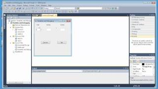 Visual C++ 2010 Express Tutorial 5 - More Functions