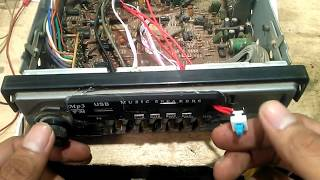 Cara Memasang Modul MP3 Player Pada Tape Mobil Model Lama/jadul