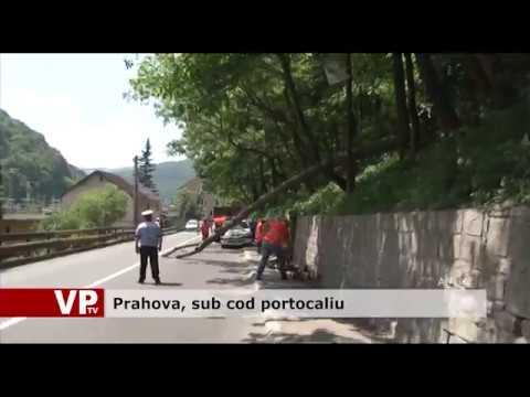 Prahova, sub cod portocaliu