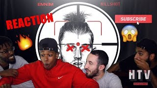 KILLSHOT   EMINEM (MGK DISS TRACK) REACTIONREVIEW *REST IN PEACE*