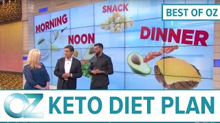A Sample Ketogenic Diet Meal Plan - Best Of Oz Collection