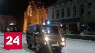 Перестрелка в украинском Олевске: бандиты делили янтарь