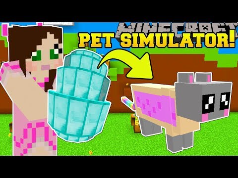 , title : 'Minecraft: PET SIMULATOR!!! (GET PET EGGS WITH EPIC PETS!) Modded Mini-Game'