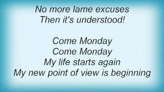 Barry Manilow - Come Monday Lyrics_1