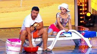 МУЖ И ЖЕНА - СЕМЕЙНЫЕ ПРИКОЛЫ на отдыхе – Дизель Шоу лучшее | ЮМОР ICTV