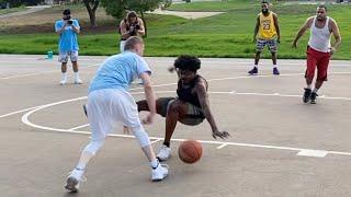 Professor & CashNasty 2v2 vs Physical Hoopers in the Hood [Heated Game]