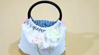 How To Make A Simple Handmade Bag With Zipper❤❤