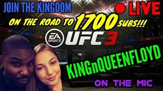 [ LIVE ] UFC 3 ONLINE RANKED CHAMPIONSHIPS #1 RANKED IN THE WORLD EP 134 PRO PLAYER PS4 GAMEPLAY