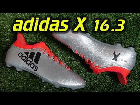 Adidas X 16.3 (Mercury Pack) - Review + On Feet