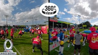 Pro Bowl Skills Showdown All-Access in 360º