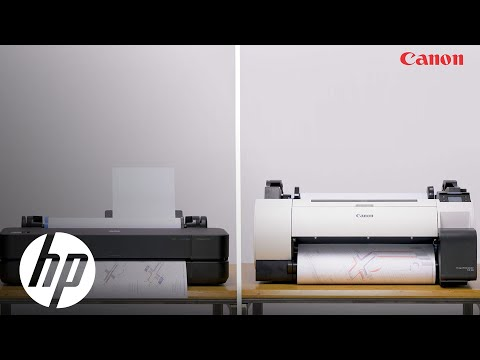 video so sanh su khac biet giua hp designjet t250 plotter va the canon ta 20