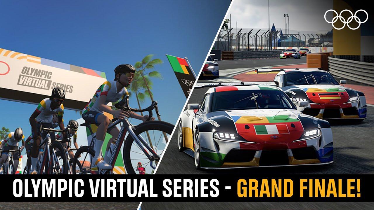 No te pierdas esta tarde la Gran Final de las Olympic Virtual Series con Gran Turismo