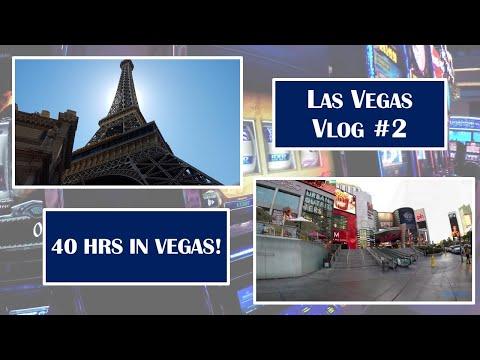 Lightning Trip to Las Vegas – 40 Hours of Fun – Trip Vlog Day Two!
