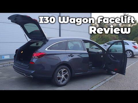 New Hyundai i30 Wagon Estate Facelift 2020 Review Interior Exterior