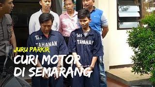 Seorang Juru Parkir di Semarang Curi Motor, Berawal dari Kunci yang Masih Menggantung