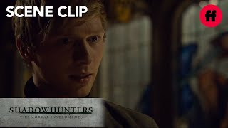 Shadowhunters | Season 2, Episode 17: Max Knows The Truth About Sebastian | Freeform