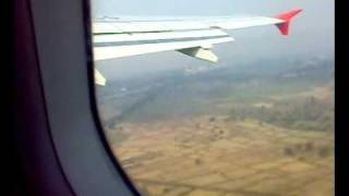 preview picture of video 'take off from raipur airport.mp4'