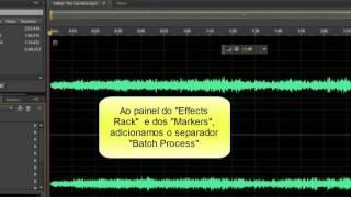 Audition CS6 – Batch Process