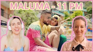 Maluma - 11 PM (Official Video) REACTION | A Cup Of Entertainment