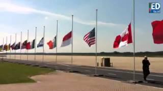Vlaggen Halfstok Vliegbasis Eindhoven