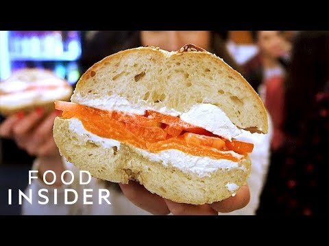 New York's Best Bagel and Lox