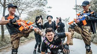 LTT Nerf War : SEAL X Warriors Nerf Guns Fight Criminal Group Dr.Lee Crazy Rescue Civilians