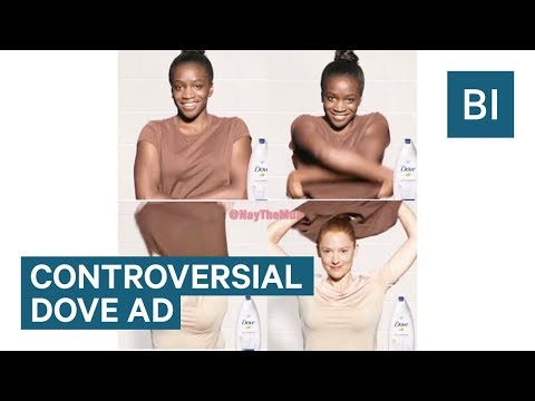 People are accusing this Dove ad of being racist