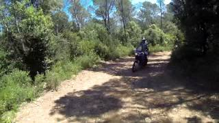 preview picture of video 'Enduro in the North of Catalonia'
