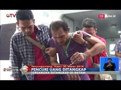 Tak Berkutik! Pelaku Pencurian Uang Pedagang Rp21 Juta Berhasil Ditangkap di Batam - BIS 31/03