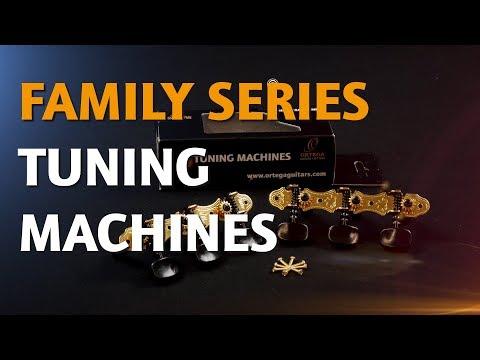 ORTEGA GUITARS | OTM TUNING MACHINES (FAMILY SERIES)