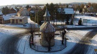 preview picture of video 'Z lotu ptaka: Wołowice w zimie - gmina Czernichów'