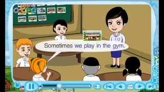 สื่อการเรียนการสอน A Teacher Teaches in a Classroom ป.3 ภาษาอังกฤษ