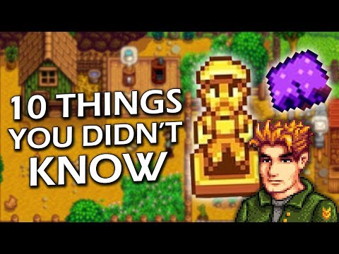 10 Things You Didn't Know About Stardew Valley