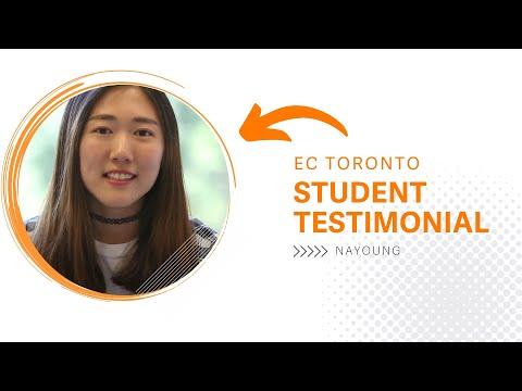 EC Toronto   Student testimonial, Nayoung Student from South Korea