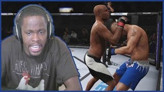 YELLED SO LOUD I MADE MYSELF DIZZY! - UFC 2 Gameplay w/ Twitch Subs PT.3