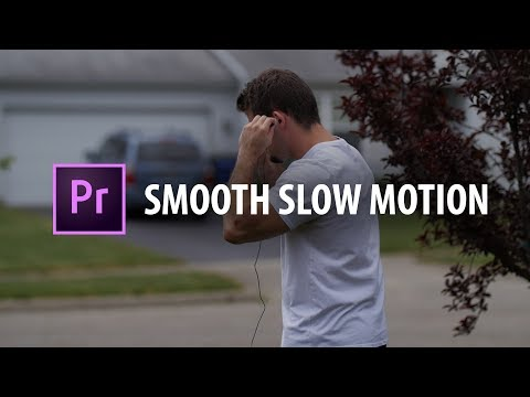 Premiere Pro: Smooth Slow Motion