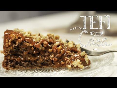 Torta de Nuez y Dulce de Leche ¡con sólo 3 ingredientes! | Tefi en Casa
