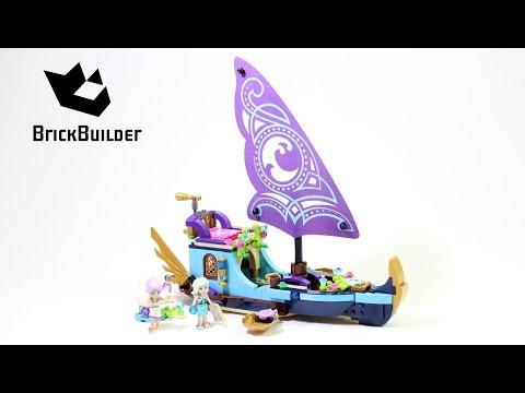 Vidéo LEGO Elves 41073 : Le bateau magique de Naida et Aira