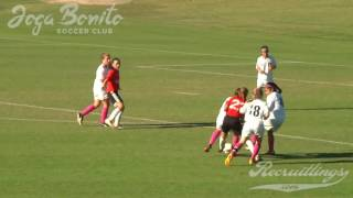 Girls U13 Soccer Joga Bonito Soccer Club Red Wolf River Classic 10-22-2016 Game 02