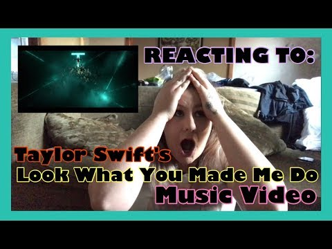 REACTING TO: Taylor Swift's Look What You Made Me Do Music Video