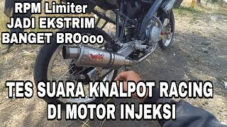 Test Suara Knalpot Racing WRX tipe Trioval K1 Untuk Vixion 150 cc Suara power full