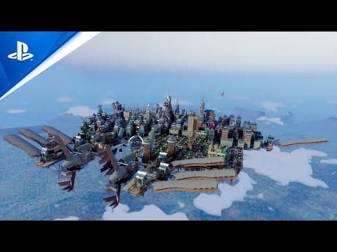Airborne Kingdom - Release Date Announcement Trailer | PS5, PS4