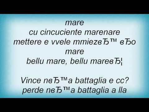 , title : 'Renato Carosone - Penelope E Ulisse Lyrics'