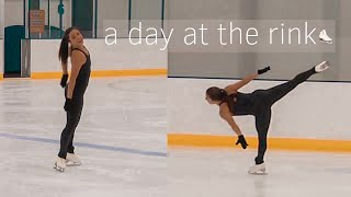 a training day in the life of a figure skater
