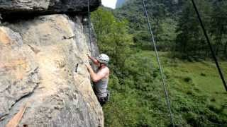 Video : China : Rock climbing in YangShuo 阳朔 - video