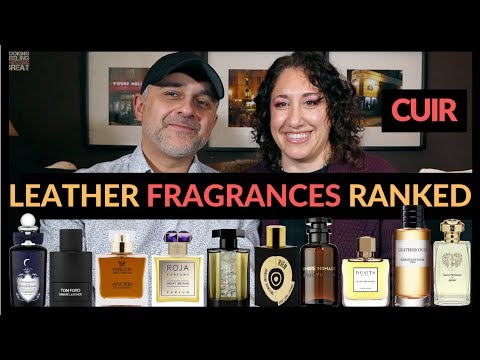 Top 20 Leather Fragrances Ranked By Dalya | Favorite Leather Perfumes