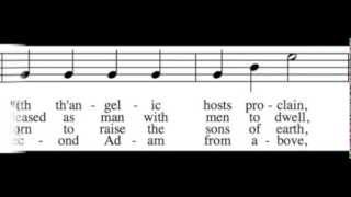 Hark! the Herald Angels Sing - Bass Only - Learn How to Sing Christmas Carols