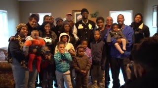 2 Chainz Donates a 5 bedroom House to a Family of 11 (9 kids)